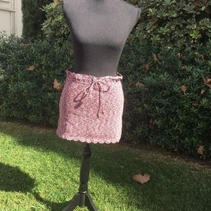 Chanel cotton drawstring skirt or top 36